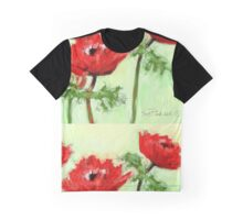 Four Red Flowers - 2012 Graphic T-Shirt