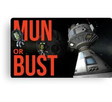 [YT] Mun or Bust! Canvas Print