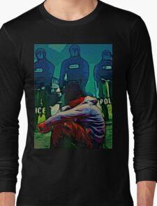NON-VIOLENT BLACK RAGE Long Sleeve T-Shirt