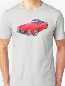 Red Mercedes Benz 300 SL Convertible T-Shirt