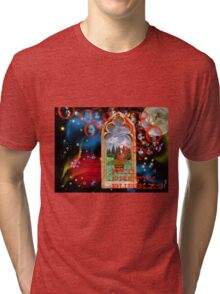 Red Bubbles, Pretty Bubbles, Pretty SCARY Bubbles... Tri-blend T-Shirt