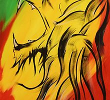 Lion of Judah by sweenicus