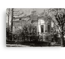 A Mansion in the Old City Canvas Print
