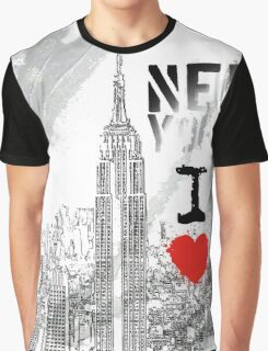 I LOVE NY Graphic T-Shirt