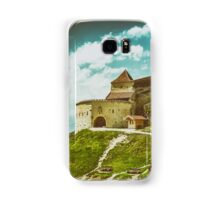 Rasnov Medieval Citadel In Romania Built Between 1211 and 1225 Samsung Galaxy Case/Skin