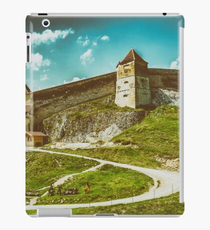 Rasnov Medieval Citadel In Romania Built Between 1211 and 1225 iPad Case/Skin