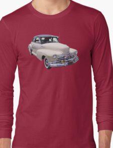 1948 Chevrolet Fleetmaster Antique Car Long Sleeve T-Shirt
