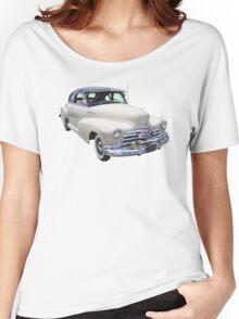 1948 Chevrolet Fleetmaster Antique Car Women's Relaxed Fit T-Shirt