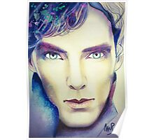 Benedict Cumberbatch as Sherlock Design 3 Poster