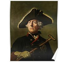 Frederick the Great Painting Poster