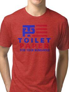 Trump Pence - Toilet Paper Tri-blend T-Shirt
