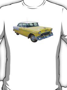 Yellow 1955 Chevrolet Bel Air Classic Car T-Shirt