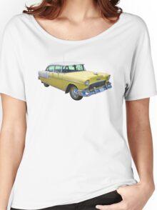 Yellow 1955 Chevrolet Bel Air Classic Car Women's Relaxed Fit T-Shirt