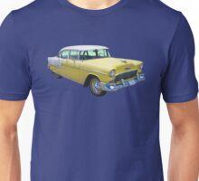 Yellow 1955 Chevrolet Bel Air Classic Car Unisex T-Shirt