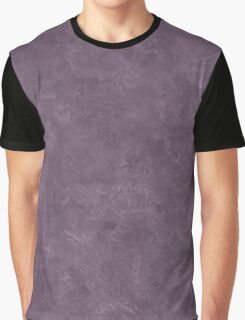 Vintage Violet Oil Pastel Color Accent Graphic T-Shirt