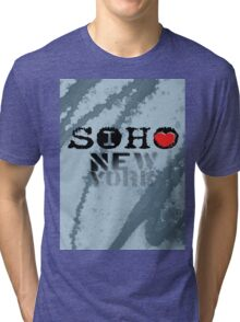 I LOVE NY soho Tri-blend T-Shirt