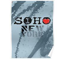I LOVE NY soho Poster