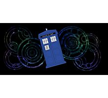 TARDIS Design Photographic Print