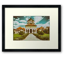 The Coronation Cathedral In Alba Iulia, Romania Framed Print