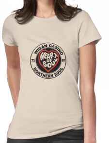 Northern Soul Wigan casino Womens Fitted T-Shirt
