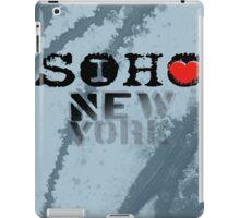 I LOVE NY soho iPad Case/Skin