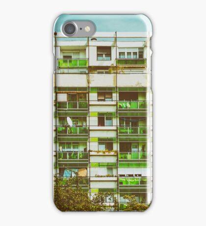 Communist Building Apartments iPhone Case/Skin