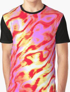 Red smoke Graphic T-Shirt
