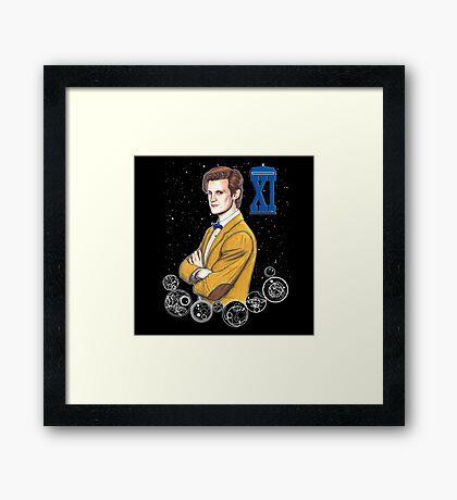 Eleventh Doctor (Matt Smith) Framed Print