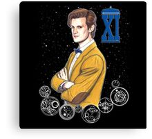 Eleventh Doctor (Matt Smith) Canvas Print