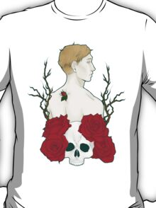 Kieren Walker - Roses and Skull T-Shirt