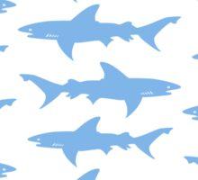 School of Sharks Sticker