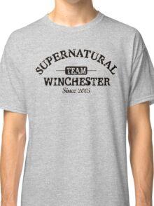 Supernatural Team Winchester Classic T-Shirt