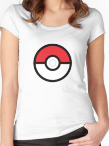 Pokéball Women's Fitted Scoop T-Shirt