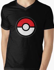 Pokéball Mens V-Neck T-Shirt