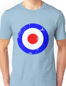 Distressed Mod Target Unisex T-Shirt