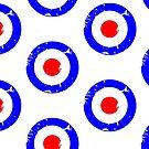 Distressed Mod Target by Auslandesign