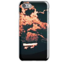 Faces In the Clouds iPhone Case/Skin