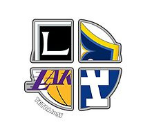 Los Angeles Pro Sports TETRAlogy! Dodgers, Lakers, Kings and Galaxy by SplitDecision