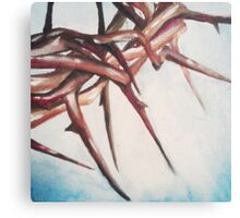 Crown of Thorns Painting Canvas Print
