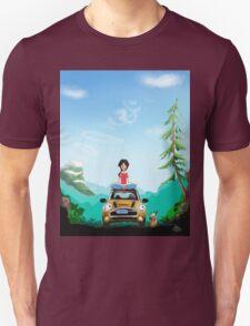 New Zealand Yoga adventures  Unisex T-Shirt