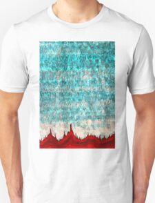 Tufas in the Mist original painting Unisex T-Shirt