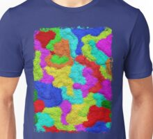 Psychedelic Glitter Pattern  Unisex T-Shirt