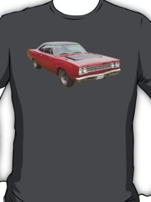 Red 1968 Plymouth Roadrunner Muscle Car T-Shirt