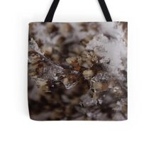 Snow Crystals Captures Ghost Tote Bag