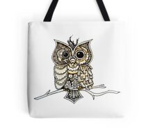 Steampunk Owl Tote Bag