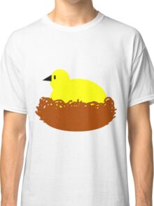 Chick on a nest Classic T-Shirt