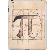 Pi Symbol Sketch iPad Case/Skin