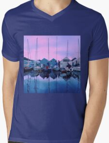 Sail Away Mens V-Neck T-Shirt