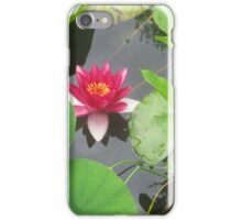 Hidden Among the Lillypads iPhone Case/Skin