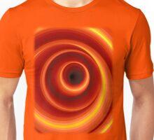 Hypnotic Orange Vertigo Hole Unisex T-Shirt